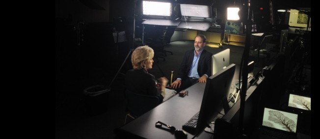 Lesley Stahl visits NASA JPL to talk about the GRACE mission and our research on groundwater depletion